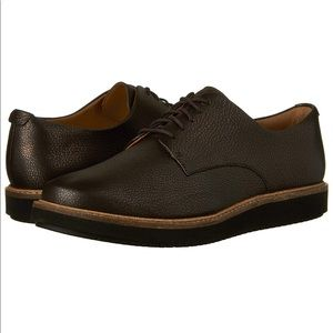 NWOT Clarks Glick Darby Oxford Flat